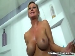 Big Tit MILF Fucked Double Penetrated by Blacks free