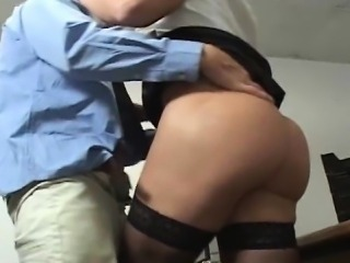 Heidi Mayne Rides Her Boss Cock on Her Desk