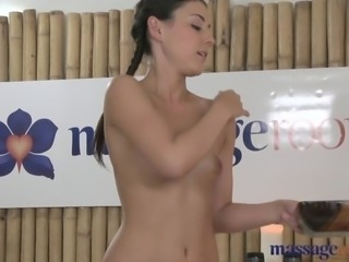Massage Rooms Young masseuse gets fucked
