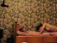 Amateur Russian Couple Make A Sex Tape