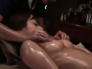 Hairy asian gets a relaxing massage