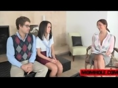 Teen boyfriend totally cuckolded by busty Ava Addams free