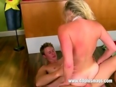 Blonde with nice big tits and a nice pussy free