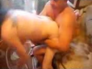 Girl two men husband and lover licks anus, sucks, prostate.