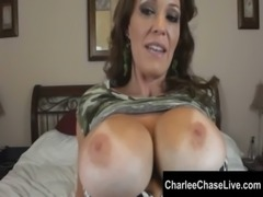 Busty MILF Charlee Chase Looks Hot in Camo free