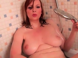 Mom masturbates in bathroom