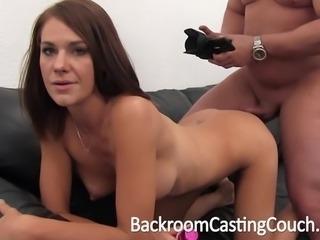 Big Tit Amateur Anal & Creampie Casting