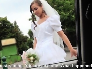 Bride banged on wedding day by stranger