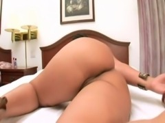 Colombian giving the ass for money free