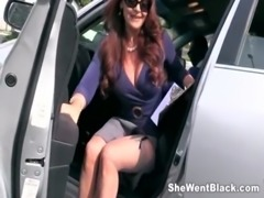 Janet Mason Fucks two Huge Black Cocks free