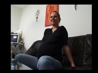 Beauty German Milf  Pregnant pregnant