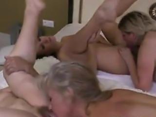 Four Mature Lesbians