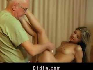 Spoiled young mistress wild fucking with her older lover
