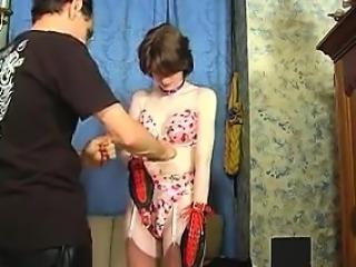 Sweet Teen Gets Her Ass Whipped