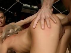 Sexy girlfriend extreme throat fuck