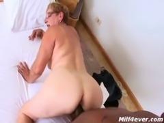 Brazilian granny wants to taste black cock free