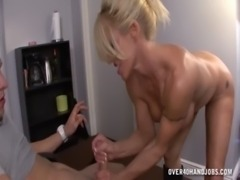 Hot Milf Handjob Domination free