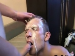Nasty Gay Sperm Felching From The Ass