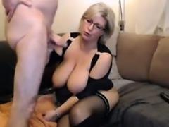 blonde mother fucked good on webcam