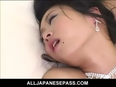 Kinky Japanese bride is the gift of both her husband and his groomsmen free