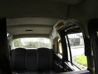 Brunette second time fucking in fake taxi