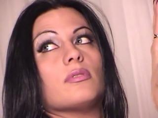 Latina hottie has a cock