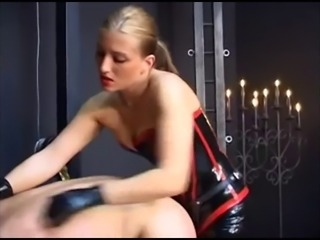 Domina Katja - Merciless Straponfuck