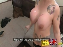FakeAgentUK Rimming, blowjobs and fucking from Blonde Spanish Milf free