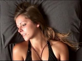 Hysterical Orgasm Face - Ashley Masturbating #1
