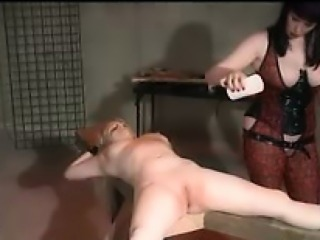 Lesbian Electro Play And Spanking