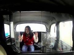 Fake taxi driver fucking beautiful amateur babe