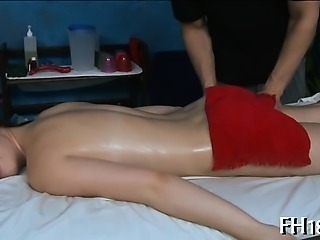 Sexy 18 year old pretty cutie gets fucked hard