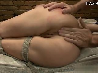 Italian wife pussy full of cum