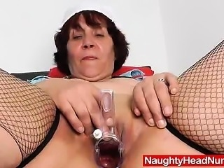 Pretty wife girlie showing off what is inside her muff