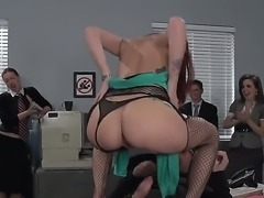 Butt fucking in public with Monique Alexander