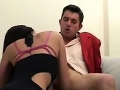 Hot Mother Riding On A Lucky Guys Big Cock