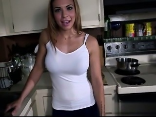Secretary cum in mouth swallow