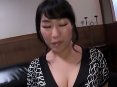 Milking asian gets cream