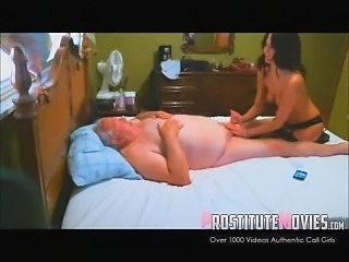 Escort vip massage and blowjob to old man