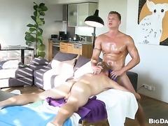 Sex obsessed bombshell having sensual butt sex