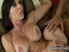 Horny guy fucked by Amazing Wild Mommy Huge Tits free