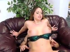 Office sex with big breasted hot MILF Cathy Heaven