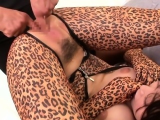 Asian bodysuit fantasy babes flexible blowjob