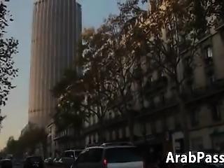 Arabic Whore In An Interracial Threeway