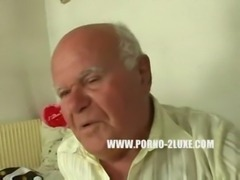 Grandpa fucks a Blonde 18 Year Old free