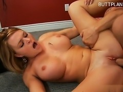 Hot gf anal creampie