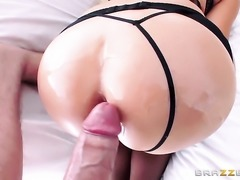 Danny D gets his always hard pole eaten by With bubbly booty before she takes...