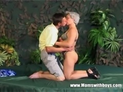 Skinny Grey Haired Granny Old Pussy Fucked free