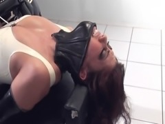 Femdom mistress going crazy on her new slave free