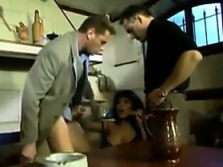 Horny Arab Babe Getting Double Penetrated